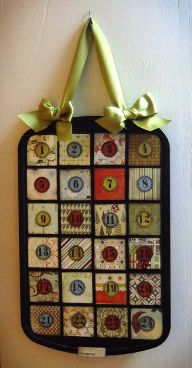 Diy Advent Calendar Muffin Tin : Carpe cupcakes cupcake advent calendar made from a