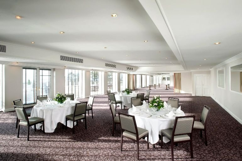 The venue is fresh spacious and ideally suited for wedding receptions