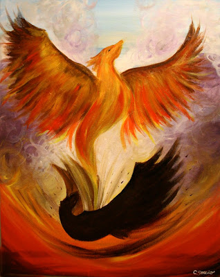 Phoenix Rising From The Ashes Pictures