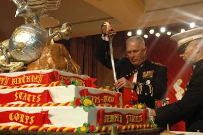Usmc Birthday Cake Cutting Ceremony