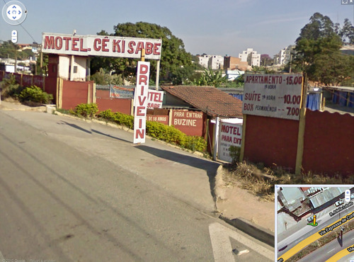 motel de luxo flagras do Google Street View