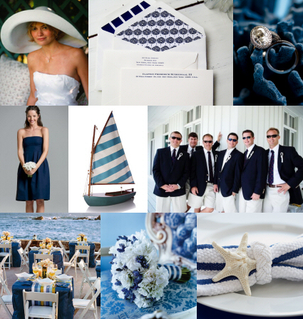 GET THE LOOK Nautical Themed Wedding