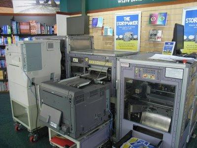 Imagen de la máquina de hacer libros