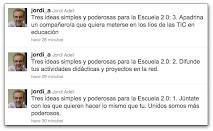Tres ideas 2.0
