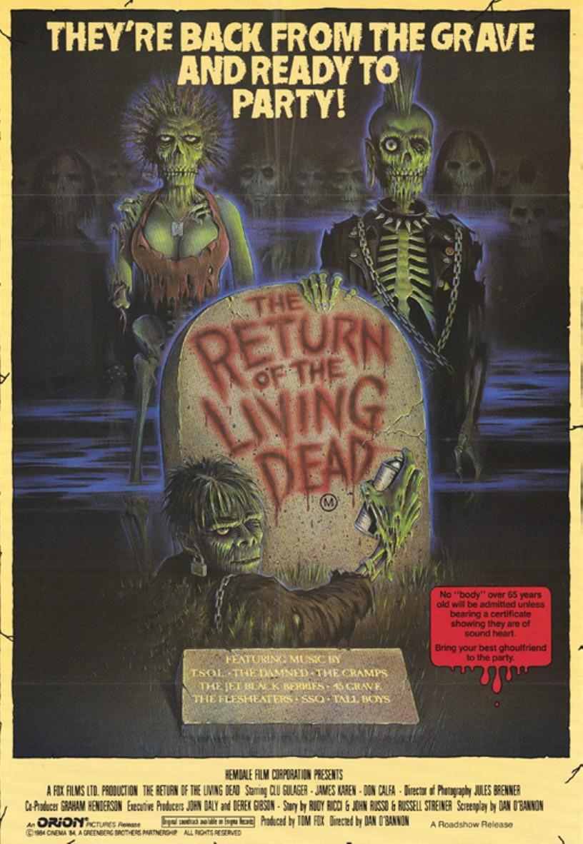 Yasayan Ölülerin Dönüşü – The Return Of The Living Dead (1985) Türkçe Dublaj indirmden direk izle