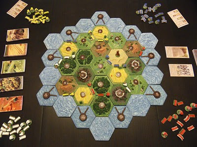 Settlers of Catan Homemade 3d