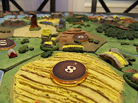 Settlers of Catan Homemade 3d  Settlement City