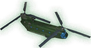Ch-47 Chinook paper model