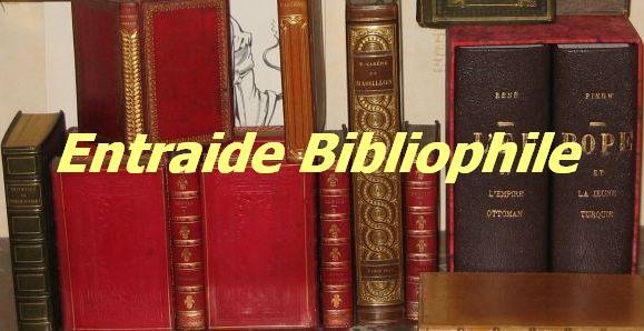 Entraide Bibliophile