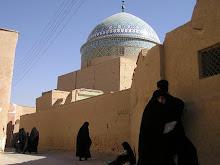Calle de la ciudad antigua de Yazd.