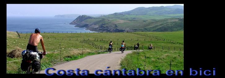 Costa cantabra en bici