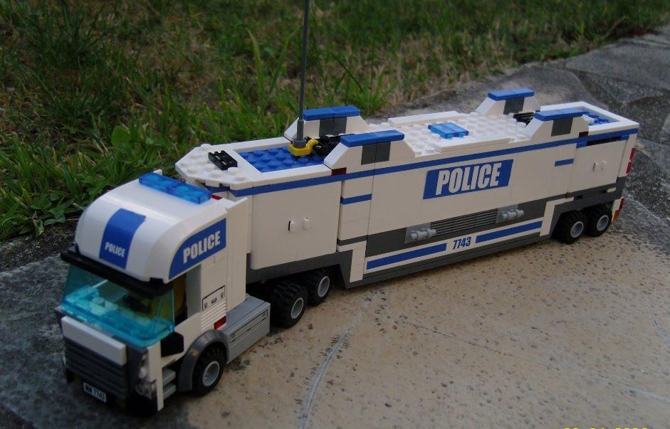 Lego city police - Lego city camion police ...