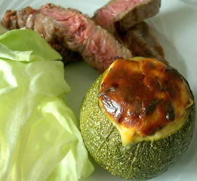 Les recettes de chanchan courgette ronde farcie au ch vre frais - Cuisiner des courgettes rondes ...