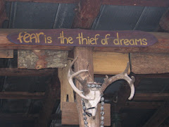 "Note to Self: ""Fear is the Thief of Dreams"""