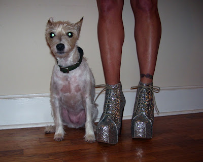 jeffery campbell silver glitter lita platforms
