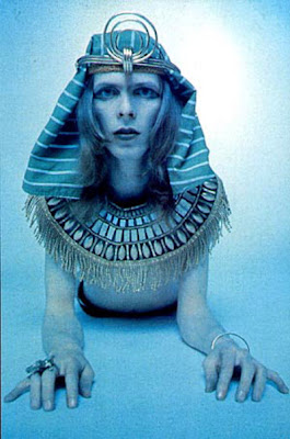 david bowie as a sphinx
