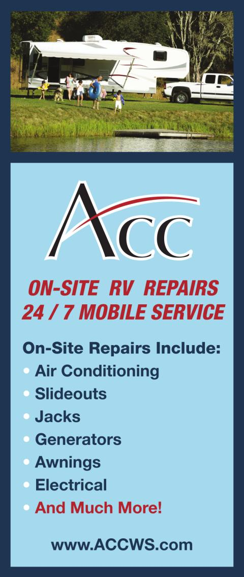 Mobile RV Repair - ACC Mobile RV Service