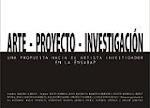 ARTE - PROYECTO - INVESTIGACION