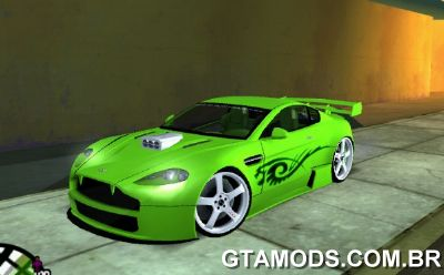 Aston Martin Vantage V8 - Green shark TUNING