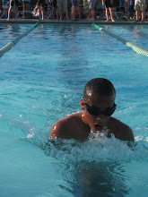 Michael Swimming