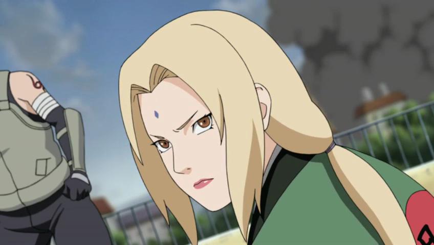 Annoyed Lady Tsunade
