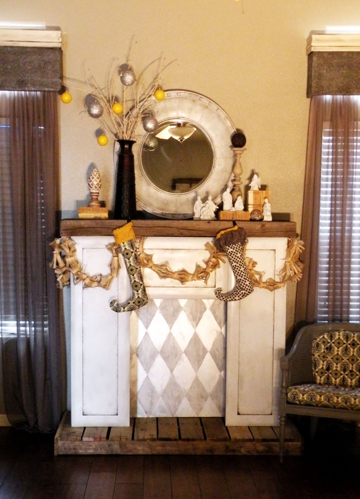 Diy Faux Fireplace Vintage Revivals