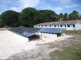 PV Solar Installation in Onoun - Chuuk