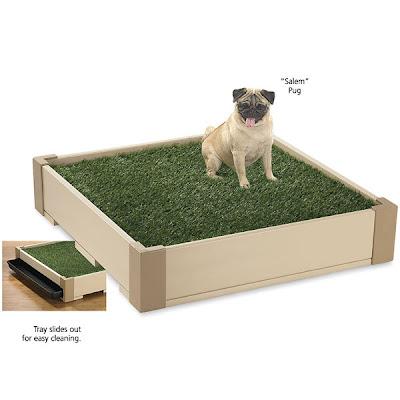Peluquer a canina nanuka style cesped portatil para perros - Jardin para perros ...