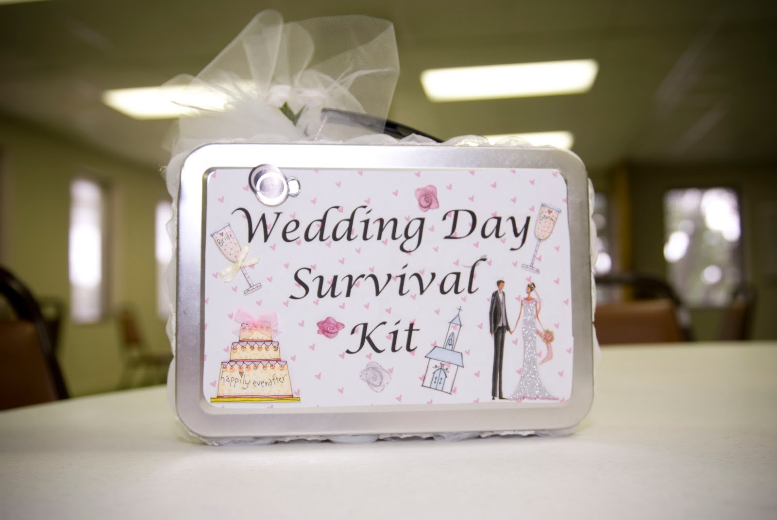 Gift For Bride Night Before Wedding : Full of Craft: Wedding Week: Wedding Day Survival Kit