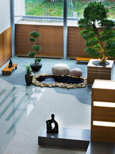 Arquitectura en construccion la terminal 5 - Que es un jardin zen ...