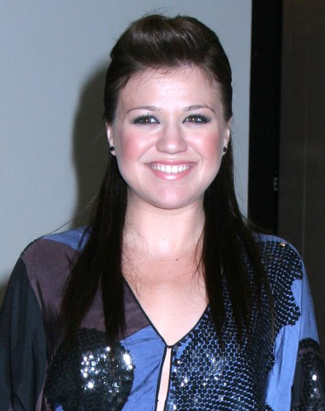Kelly Clarkson Celebrity Hairstyles For Round Faces