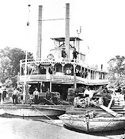 The steamboat SELKIRK