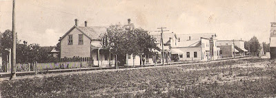 St. Vincent main street looking east, 1918