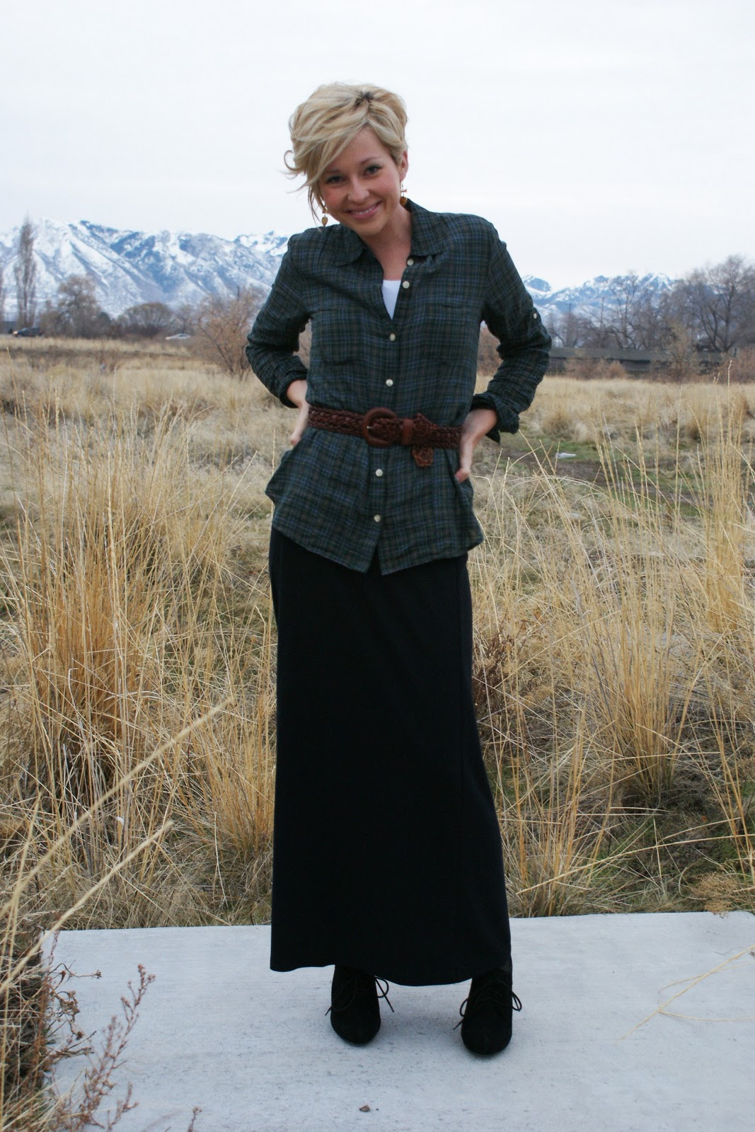 For the Love...: RFF: Long Skirt Short Jacket