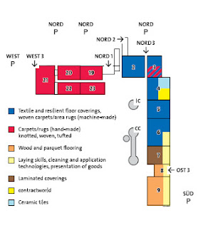 DOMOTEX 2010 Hall Plan