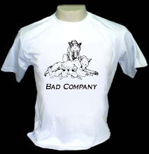 Bad Company - Camiseta P, M ou G - R$ 29,00 + frete