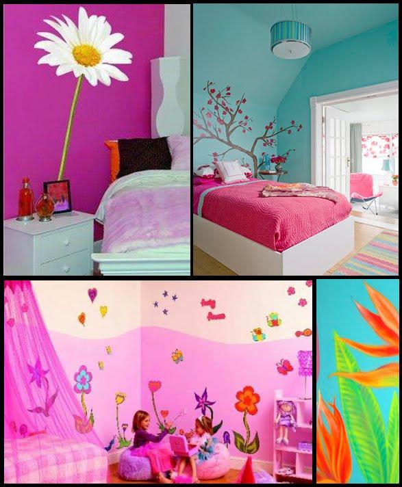 Murales y vinilos decorativos m laga decoraciones - Decoracion para habitaciones infantiles ...
