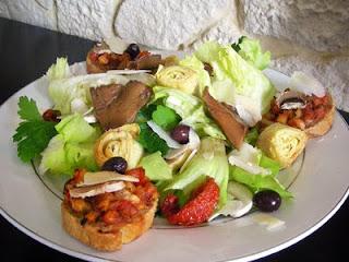 Salade l 39 italienne blogs de cuisine - Blog de cuisine italienne ...