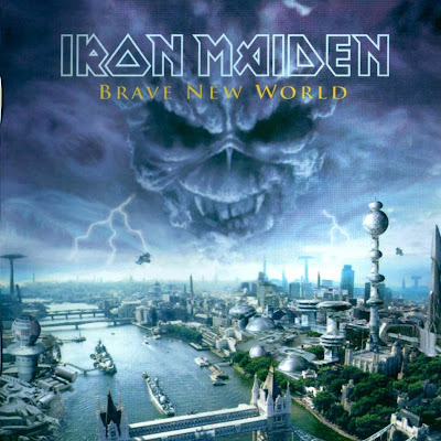 rock  Iron Maiden  Brave New World