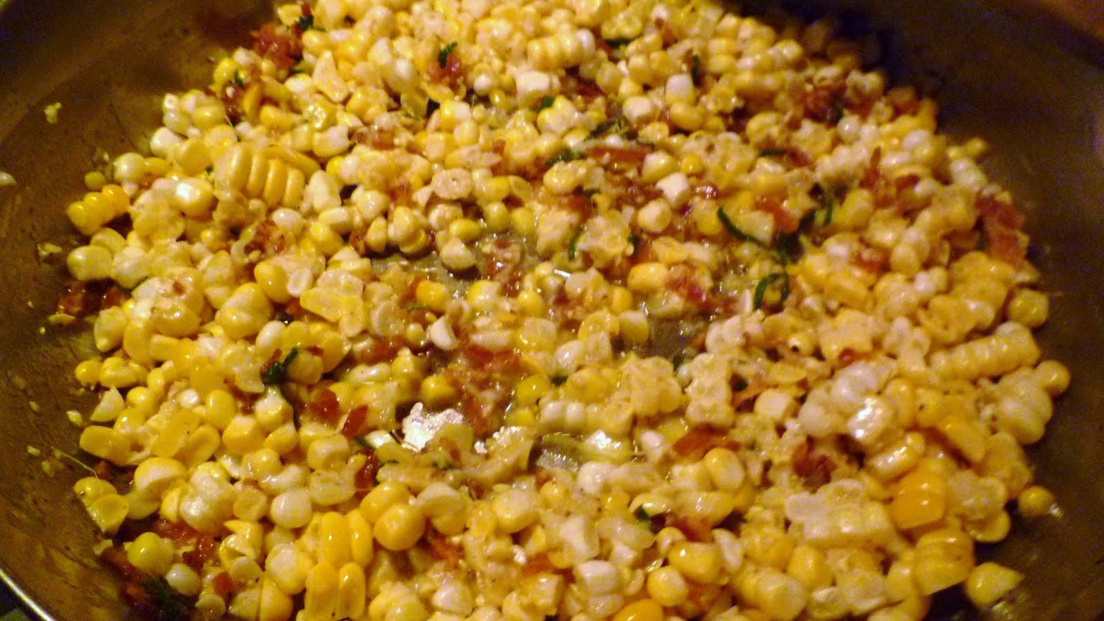 Buttered Skillet Corn Recipe — Dishmaps