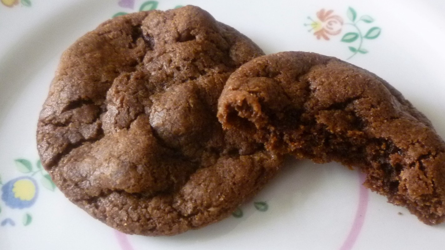 For Love of the Table: Chocolate Hazelnut Cookies