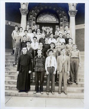 Students at Loyola Academy - 1941