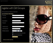 Click below for your exclusive invitation to the Gilt Groupe.  Up to 70% off Designer fashions