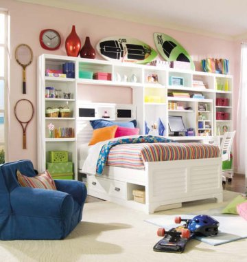 Kid beds toddler room - Why storage beds are ideal for childrens rooms ...