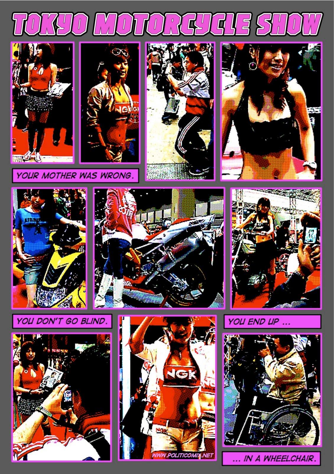 TokyoMotorcycleShow MotherWasWrong Random Wallpapers
