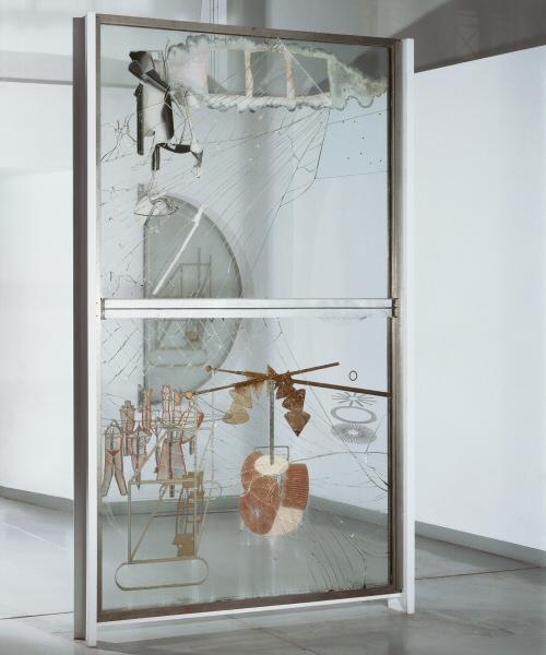 la transversalité de l'émotion artistique (let's play!) C1-duchamp-grand-verre