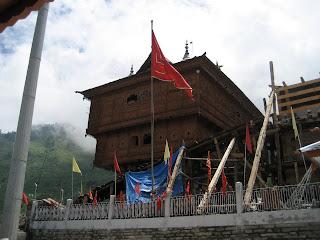 bhimkali temple Sarhan