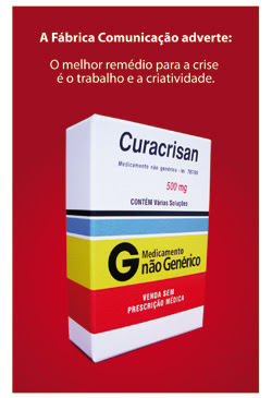 Fábrica Comunicação lança o Curacrisan. Blog Publiloucos.
