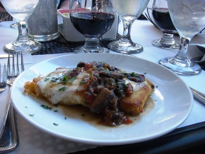 Local Dish Winston-Salem: Dioli's Trattoria: Pasta on the Patio