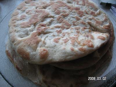 Patetesli Ekmek (Gözleme)